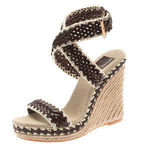 Tory Burch | Lilah Espadrille Wedge, Size 6
